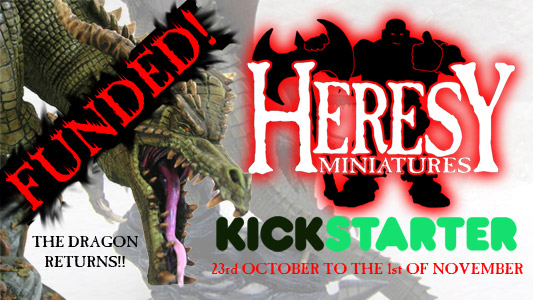 The Dragon Returns - Kickstarter Live Now! Go!